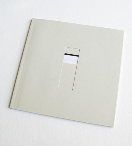 """""""Windows"""" (handmade book and a cover designed for the photography project that concerned various windows)"""